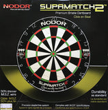 Nodor SupaMatch2 Bristle Steel Tip Dartboard