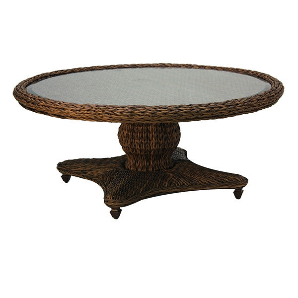 Patio Renaissance Antigua Collection Outdoor Round Coffee Table