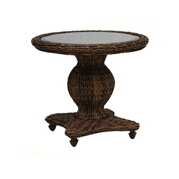Patio Renaissance Antigua Collection Outdoor Round End Table