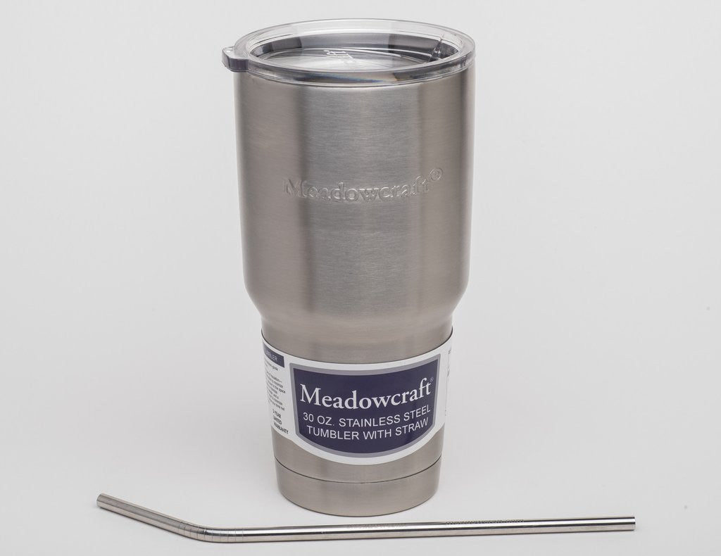 Meadowcraft Stainless Steel Tumbler