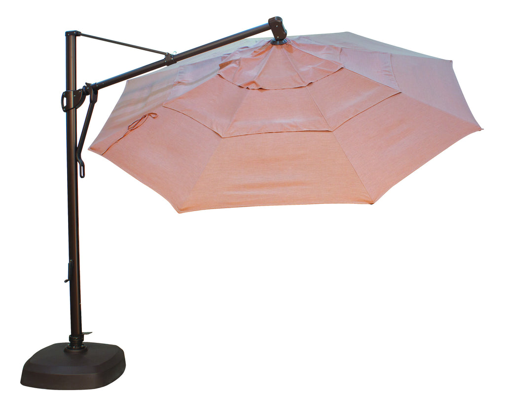 "Treasure Garden ""13' Round Cantilever Umbrella"" (QUICK SHIP)"