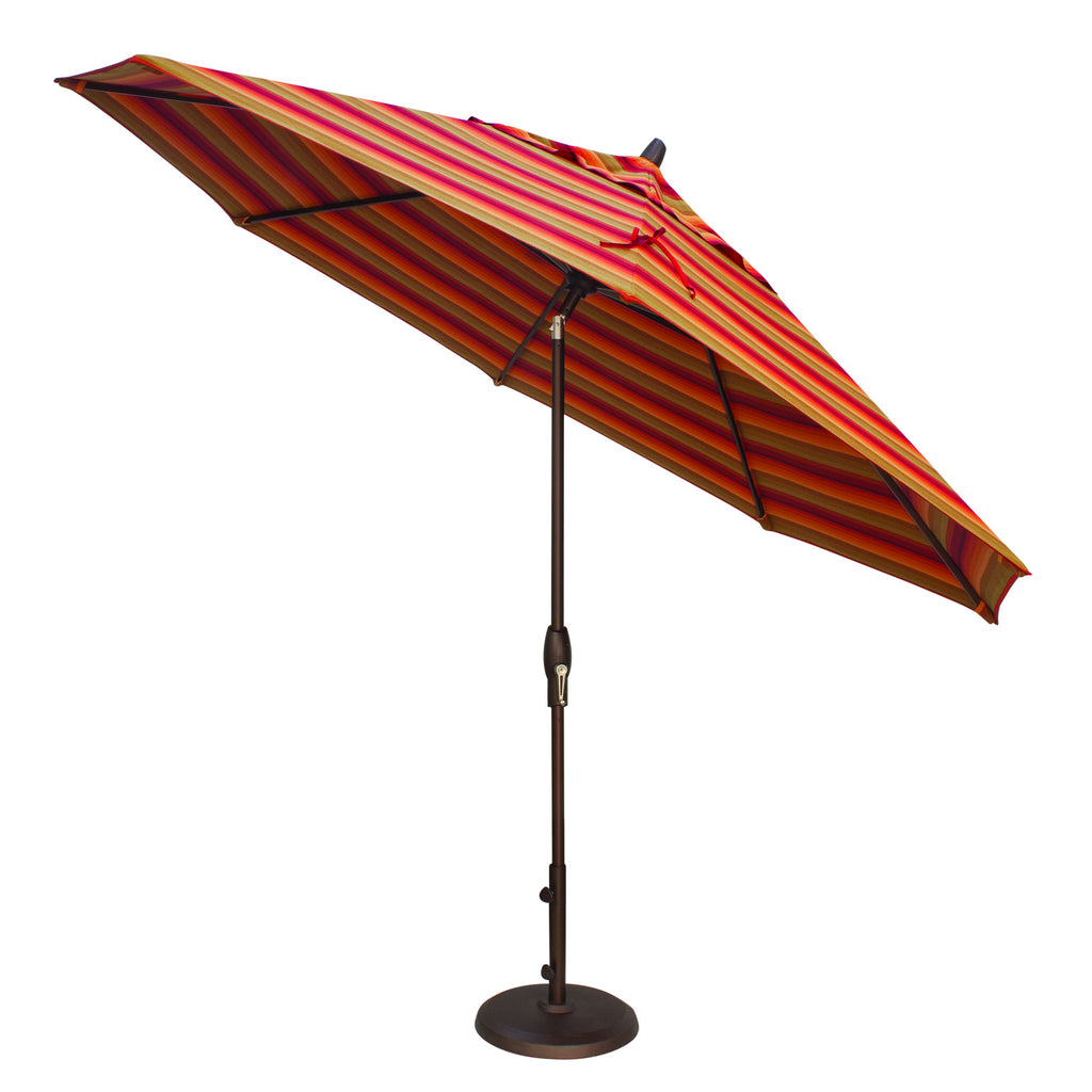 "Treasure Garden ""11' Aluminum Auto Tilt Umbrella"" (QUICK SHIP)"