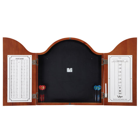 "Viper ""Cambridge"" Sisal Dartboard Cabinet"