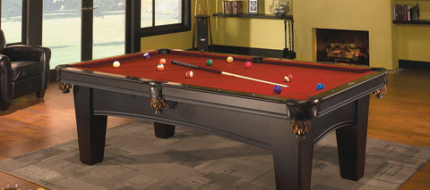 Pool Tables And Billiard Tables Olhausen Legacy Master Zs - How much room for a pool table