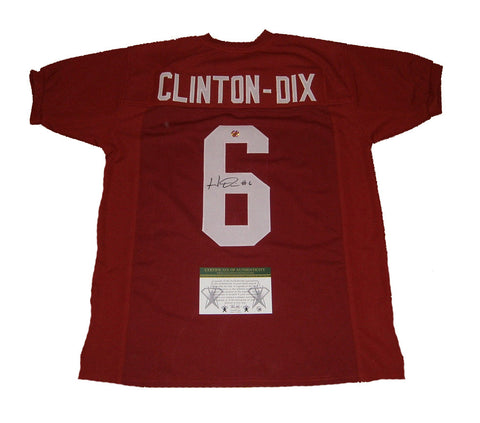 Haha Clinton-Dix Alabama Crimson Tide Signed Custom Jersey