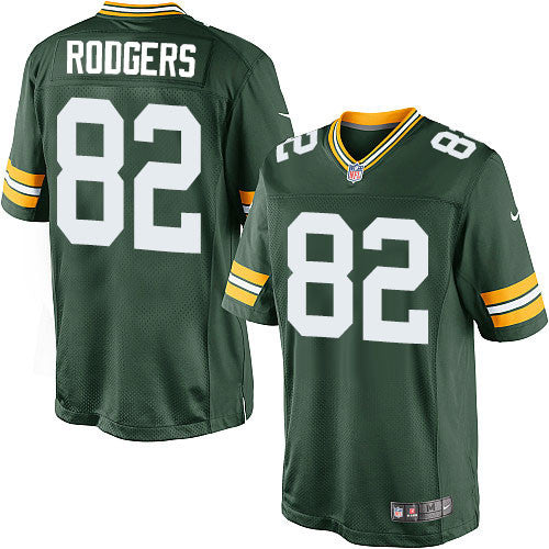 Richard Rodgers Green Bay Packers Unsigned Green Jersey