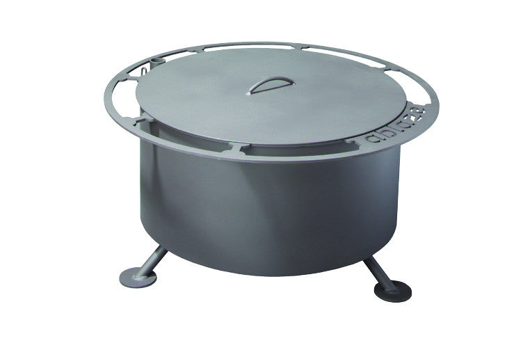 "Breeo ""Ablaze"" Smoke Less Fire Pit with Lid"