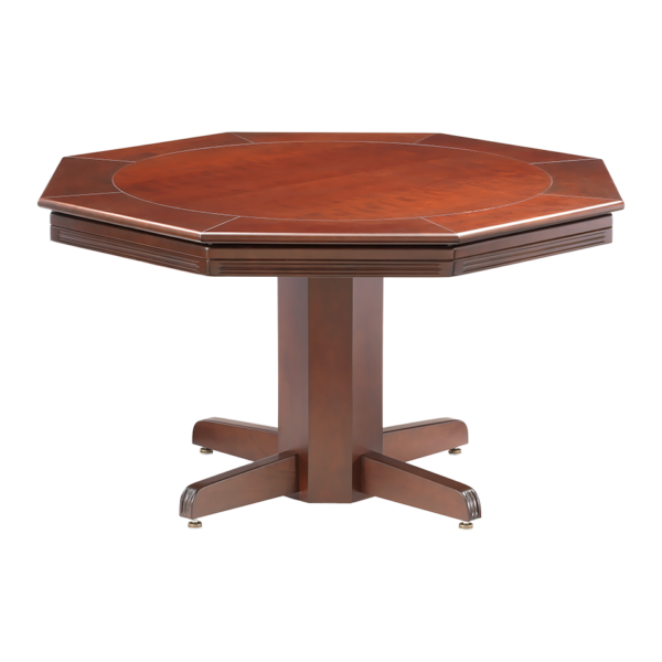 RENO POKER DINING TABLE W/ BUMPER POOL – MAPLE