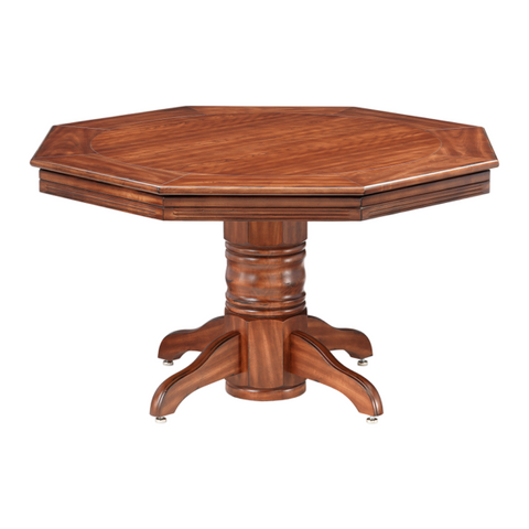 RIVIERA POKER DINING TABLE W/ BUMPER POOL – MAPLE