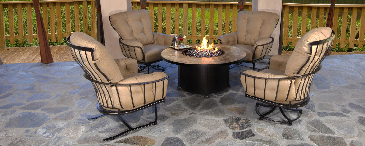 Patio Furniture and Fire Pits