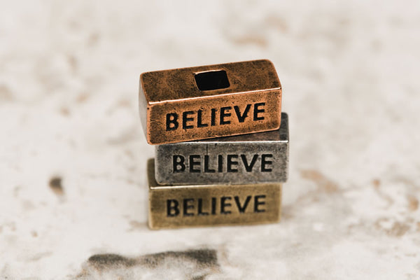 212west.com Believe brick for custom necklaces