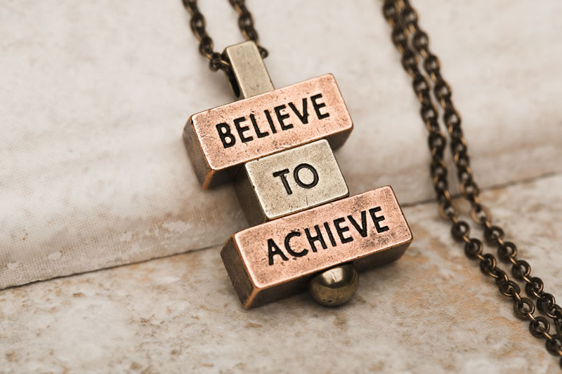Believe to Achieve - 212west.com necklaces and pendant