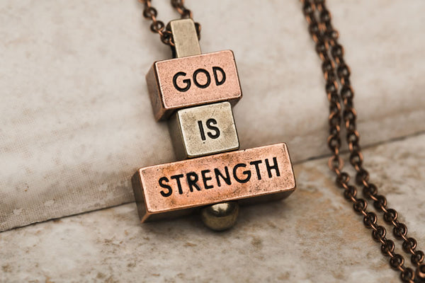 God word brick for personalized womens necklace accessories - 212west.com