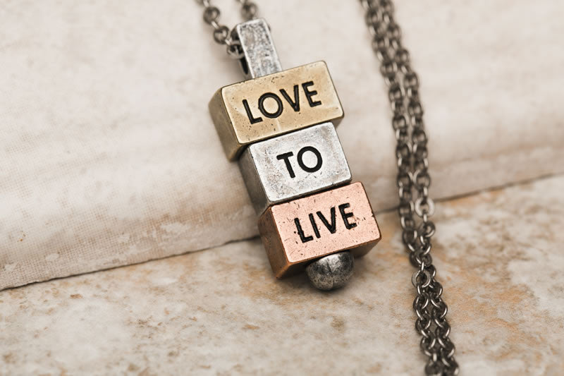 """Love to Live"" - 212 west necklace collection"