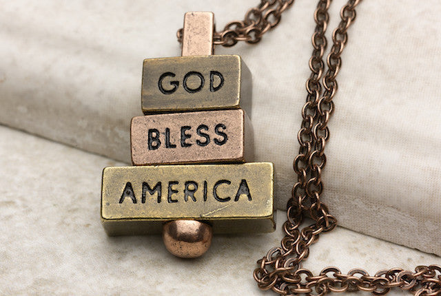 God Bless America - Copper, Multi