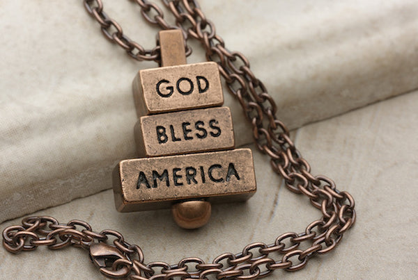God Bless America - Copper