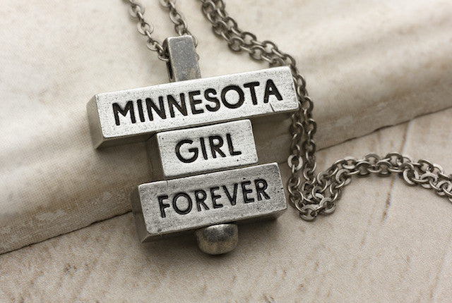 Minnesota Girl Forever - Pewter