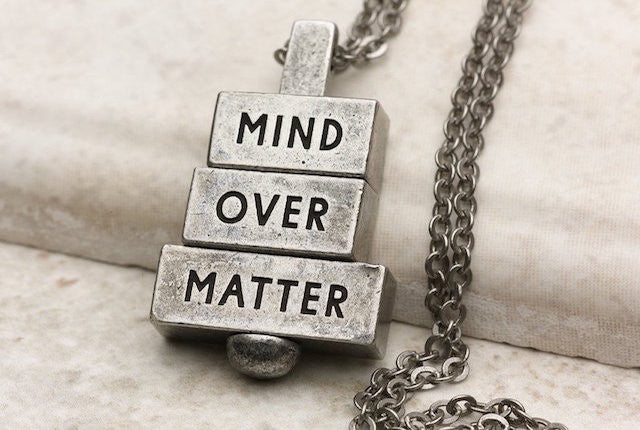 Mind Over Matter - Pewter
