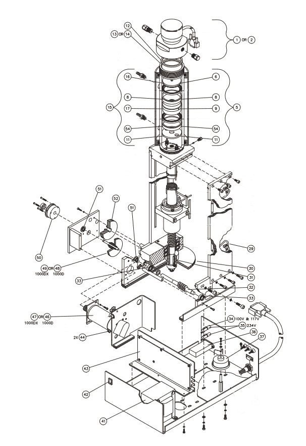 pump parts diagram  u2013 teledyne isco