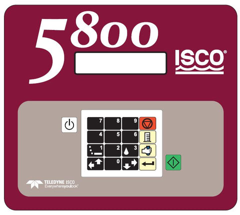 Label For 5800 Control Panel
