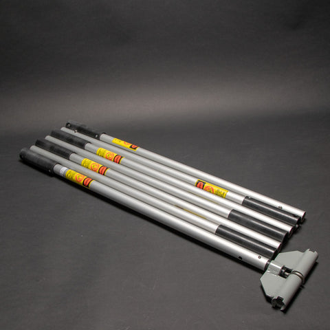 Street Level Installation Tool Multi-Section Pole