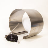 Street Level Installation Tool Mounting Ring For 15 Inch Diameter Pipe