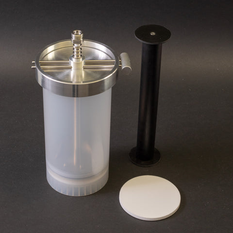 Adjustable Solid Load Cartridge Cap (SLCC) for 375 and 750 Gram Sample Load Cartridges