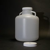 Polyethylene Bottle With Two Caps (2.5 Gallon)