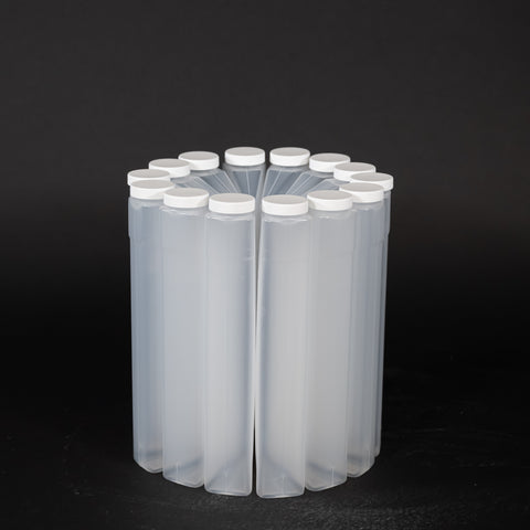 Polypropylene Bottles With Caps (14 Wedge 950 mL)