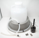 Bottle Configuration For Model 3700 Full-Size Portable Sampler (1 Polyethylene 2.5 Gallon)