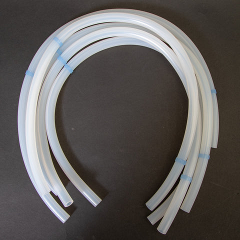 Silicone Rubber Pump Tubing For Avalanche / 4700 / 5800 / 6700 Series Samplers (Qty 5)