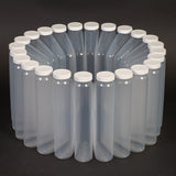 Polypropylene Bottles With Caps (24 Wedge 1 Liter)