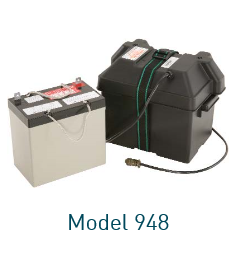 Model 948 Lead Acid Battery (12 VDC / 45 Ah)