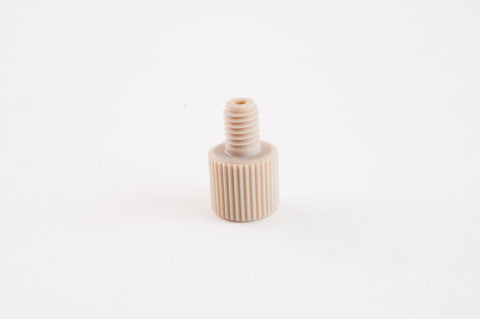 Flangeless Nut for 1/16 Inch Tubing