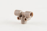 Tee For 1/8 Inch Tubing (1/4-28 Flangeless Fittings)