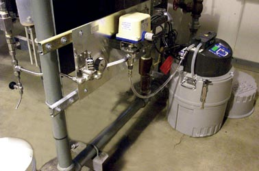 Complete Pressurized Line Sampling System For 6700 Series / Avalanche Sampler