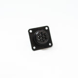 Female 7-Position Panel Mount Receptacle Connector