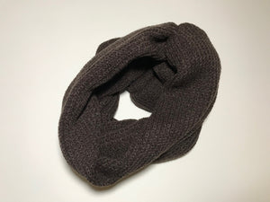 NECKHAT Beanie and Neck Warmer - Brown