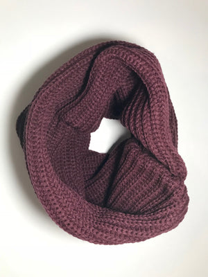 NECKHAT Beanie and Neck Warmer - Crimson