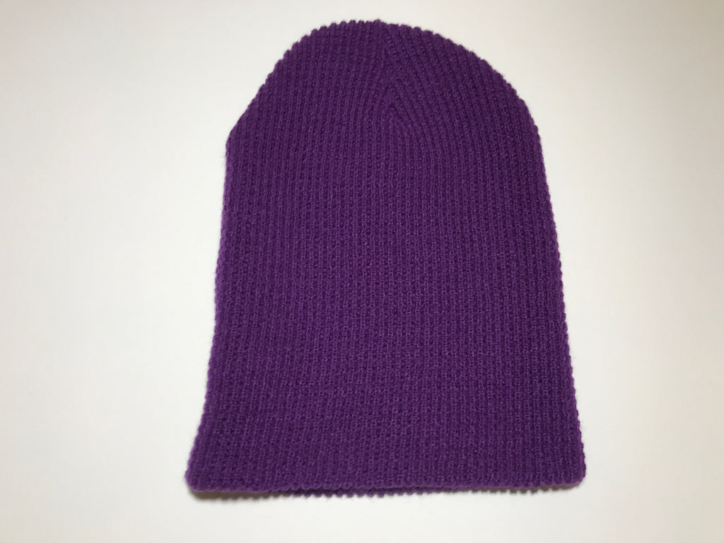 NECKHAT Beanie and Neck warmer - Purple