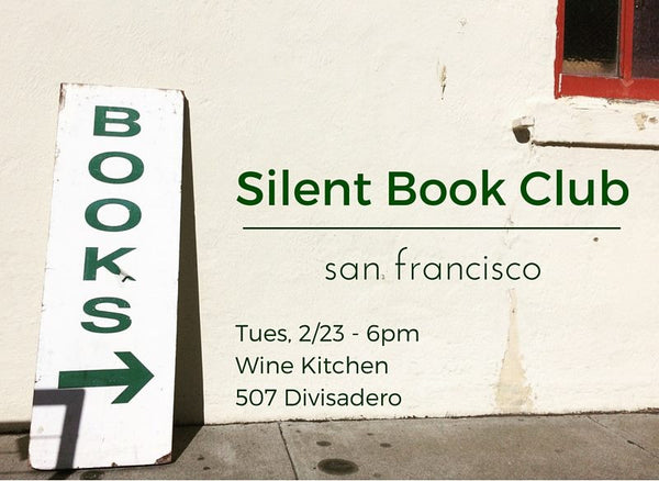 Silent Book Club - SF 2/23