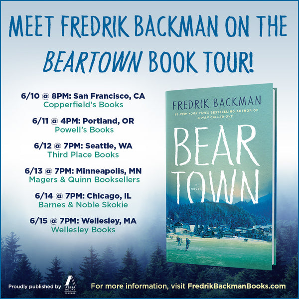 backman beartown tour silent book club