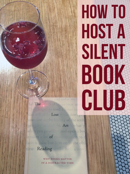How to host Silent Book Club