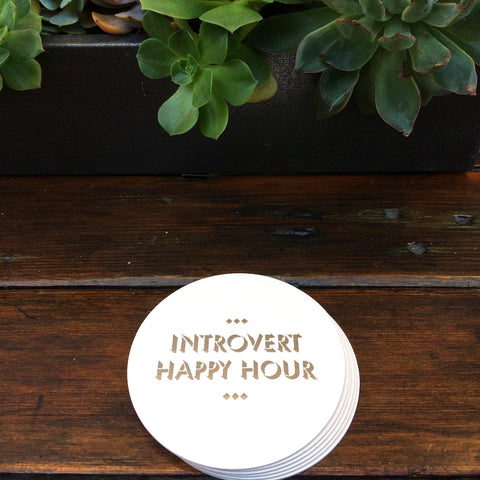 introvert happy hour silent book club