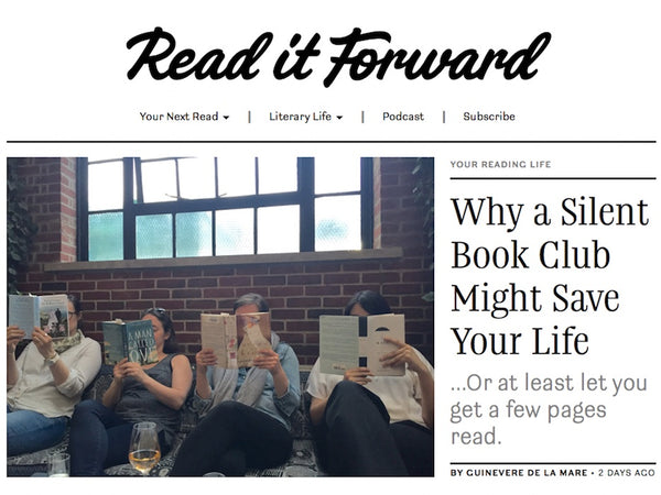 silent book club read it forward