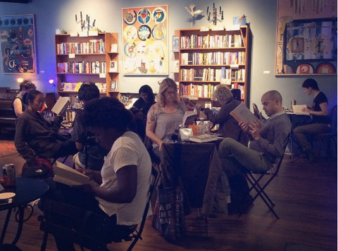 silent book club Oakland