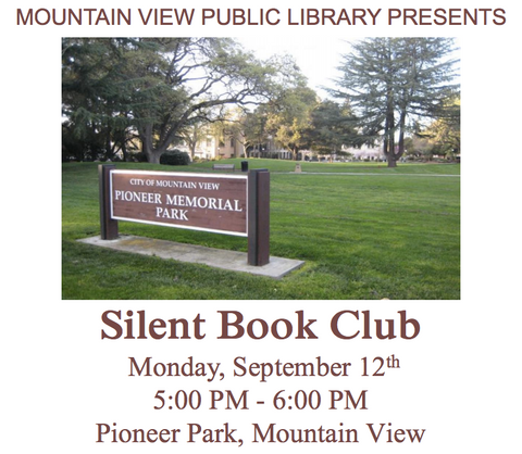 silent book club mountain view