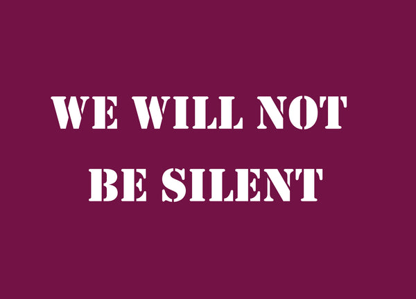 we will not be silent book club