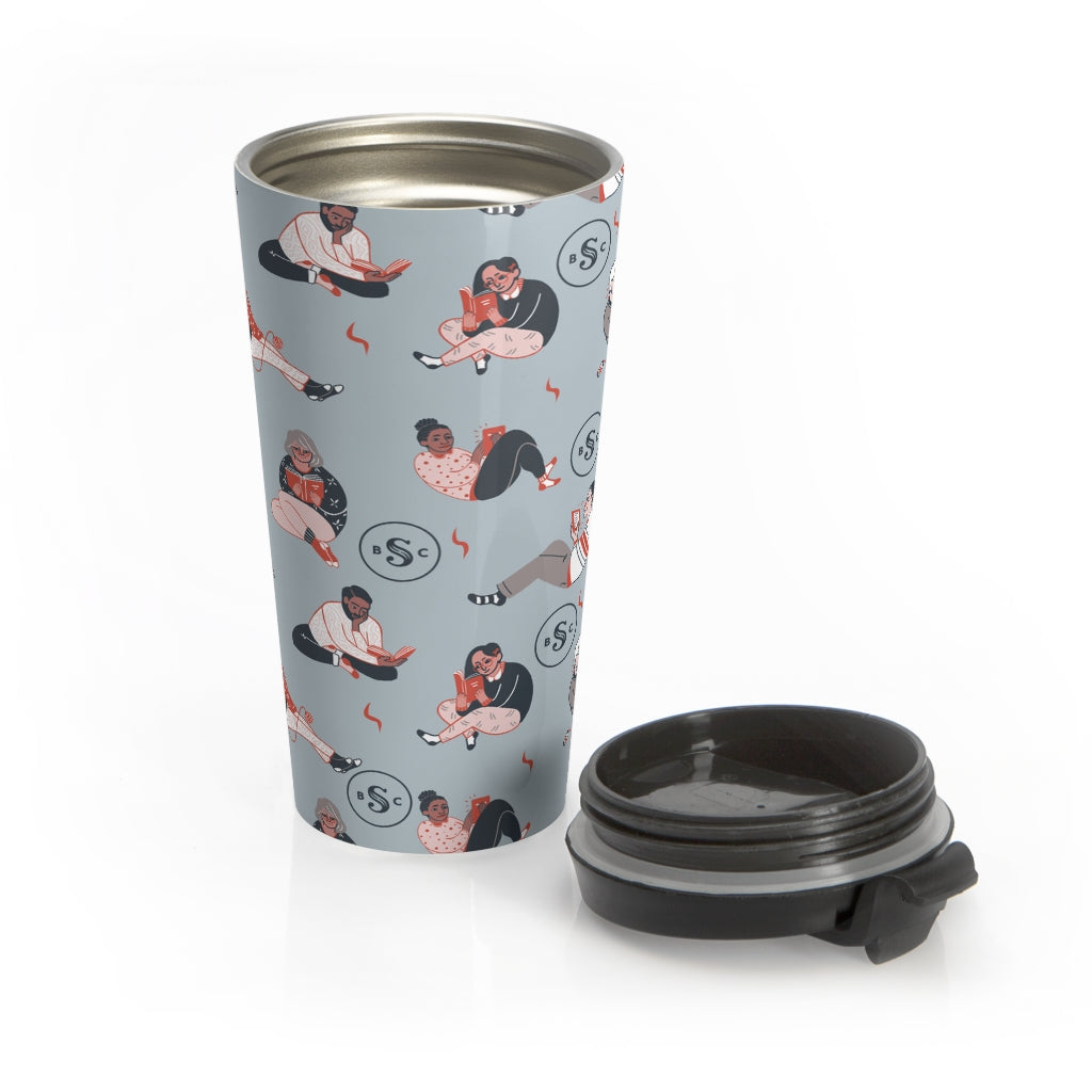 All Readers Welcome Travel Mug (15oz)