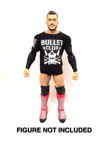Bullet Club. Custom Shirt For WWE Mattel Figures